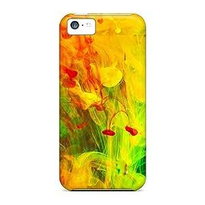 TJPal Premium Protective Hard Case For Iphone 5c- Nice Design - Mix 3d Paint
