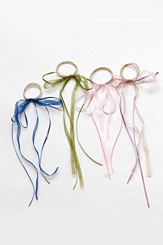 Generic _butterfly_ Ring hair rope_Korean_temperament_cloth_ head hair Headdress strap _ancient_friezes_small_beauty_sweet-head hair Headdress band