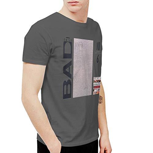 Geneva F Bad Company 10 from 6 Men's Short Sleeve Tee Deep Heather M