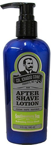Col. Ichabod Conk Southwestern Sun Aftershave Lotion 6 fl. oz.