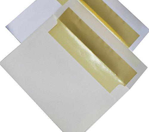 A9 FOIL LINED Envelopes Lining