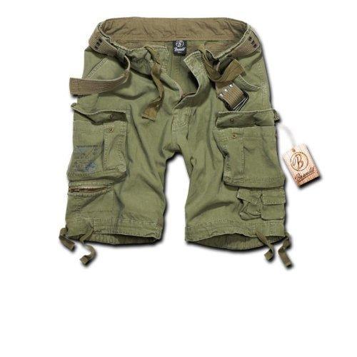 Brandit Savage Vintage Shorts Olive Size XL
