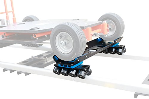 Proaim Skateboard Wheels Kit for Doorway Dolly | For Straight & Curve Tracks with Distance of 22.5'' - 27'' | Converts Floor Dolly into Track Dolly, Payload up to 680kg/1500lb (SB-283-00) + Flight Case by PROAIM