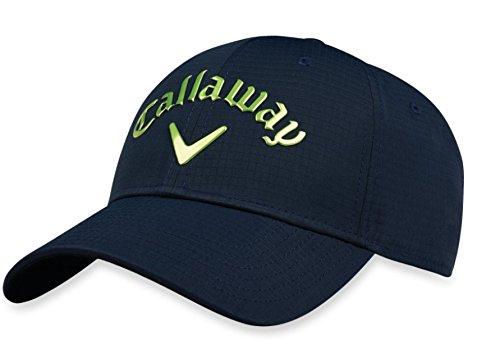 Callaway Golf 2018 Liquid Metal Adjustable Hat, Adjustable, Navy/ Green ()