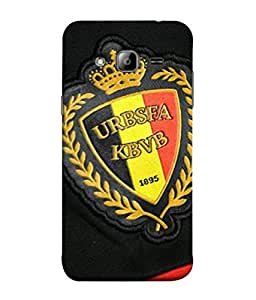 ColorKing Football Belgium 09 Multi Color shell case cover for Samsung J3 2016
