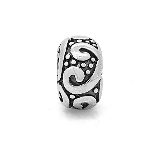 Chamilia Dots - Everbling Swirl Dots 925 Sterling Silver Charm Fits European Charm Bracelet