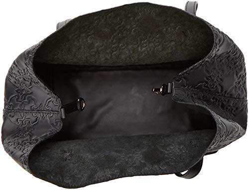 Borse Tote Nero Capazo Mossaic Donna Grande negro Tous wqI4t676