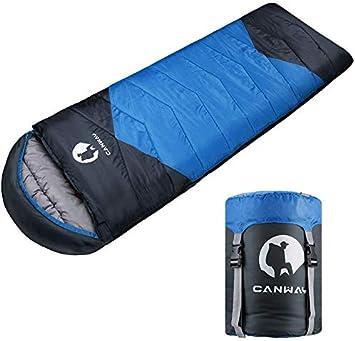 Amazon.com: Canway - Saco de dormir con saco de compresión ...