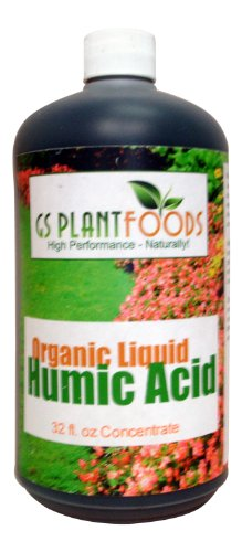 Organic Liquid Humic Acid,32 fl oz Concentrate