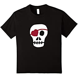 Kids Valentines Day T Shirt A Great Gift for Men and Boys - Kids 8 - Black