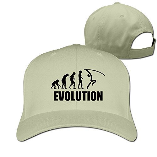 Evolution Of Pole Vaulting Adjustable Fitted Hats Baseball -