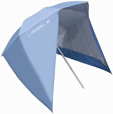 Decathlon Ombrelloni Da Spiaggia.Tribord Ombrellone Parasole Con Abenehmbaren Parti Laterali Arancio O Blu Blu Amazon It Sport E Tempo Libero