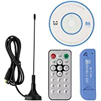 WE REWARDS Usb 2.0 Dvb-t Digital Tv Stick Tuner Receiver DAB+FM+SDR RTL2832U+R820T2 Tv Tuner Usb DVB T Satellite Receiver Antenna+Dongle
