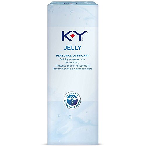 K-Y Jelly Personal Lubricant, 2 oz. (Pack of 2)