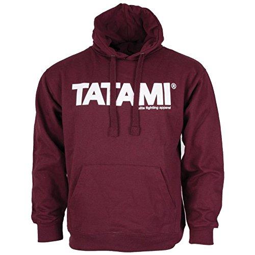 Essential Tatami Burgundy Con Felpa Fightwear Uomo Cappuccio 4rq5Tr