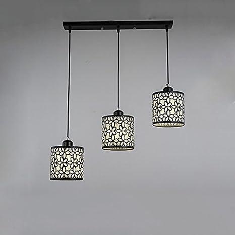 techo focos 3 Lámpara de lámpara de Comedor techo Vintage mN8n0wOv