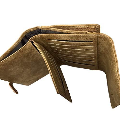 Morbida Portafoglio Chic Pratica Donna Sobrio Giorno Idea Sabbia Portafoglio Tracolla Regalo Base Ogni Pelle Elegante Moderna Semplice Angkorly Portafoglio Per Stuoia Trend gqPxwT5Fv