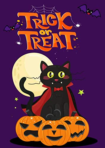 Rainy Day Halloween Activities (Trick or Treat: Halloween Fun Childrens Activity Book Age 4-8 Crossword, Suduko, Maze Puzzles for)
