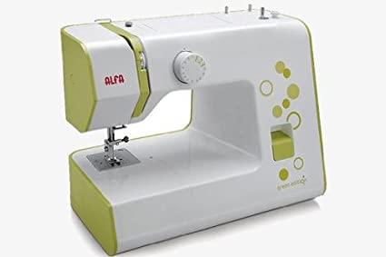 Alfa NEXT 20 - Máquina de coser (Máquina de coser automática, Verde, Costura