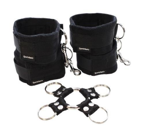 Hog Tie - HOG TIE & CUFFS SET by Sport Sheets