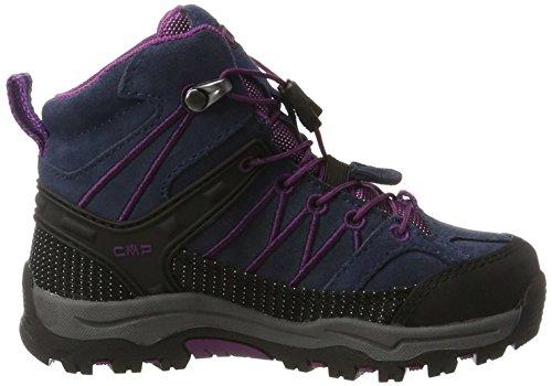 de CMP Mixte Rigel blue B Mid Adulte Chaussures Bleu purple Randonnée WP Hautes rqxIaCSqw