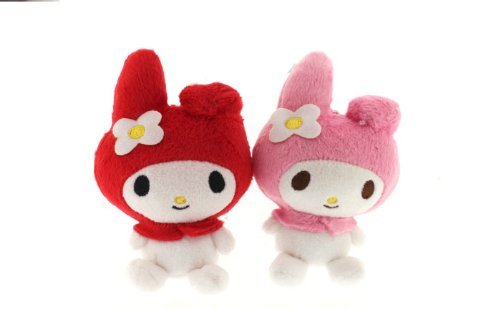 Sanrio My Melody Plush Doll Cell Phone Strap (Red)