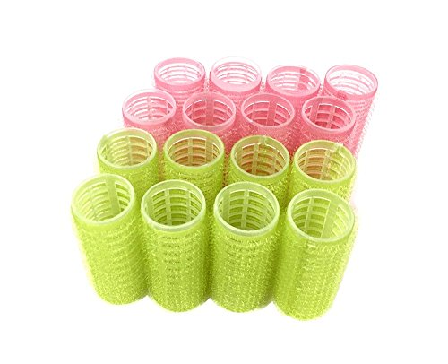 Medium Size Self Grip Hair Rollers Pro Salon Hairdressing Curlers by HAIR ROLLERS (Image #5)