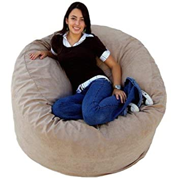 Amazon Com Cozy Sack 4 Feet Bean Bag Chair Large