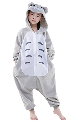 Totoro Dress Costume (Christmas Costumes Children Costumes Kigurumi Pajamas Onesies Cosplay Costumes (7-for height 51~53