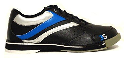 UPC 887970910443, 900 Global Classic Pro Bowling Shoes, Black/Blue, Men's 7.5