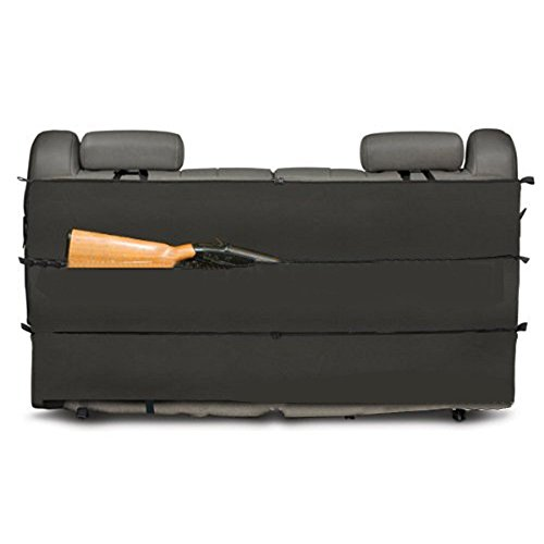 Hunting Sling Bags Black Camo Rifle Gun Rack case Organizer for Most SUV Trucks car Back Seat Vehicle Gun Storage