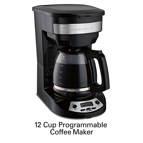 programmable coffee maker hamilton 46299 programmable coffee maker black by 31084