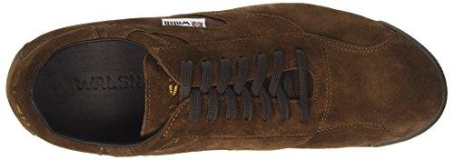 Walsh Vripple Classic, Sneaker a Collo Alto Uomo Marrone (D.brown Suede)