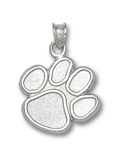NCAA Clemson University Sterling Silver Paw ()