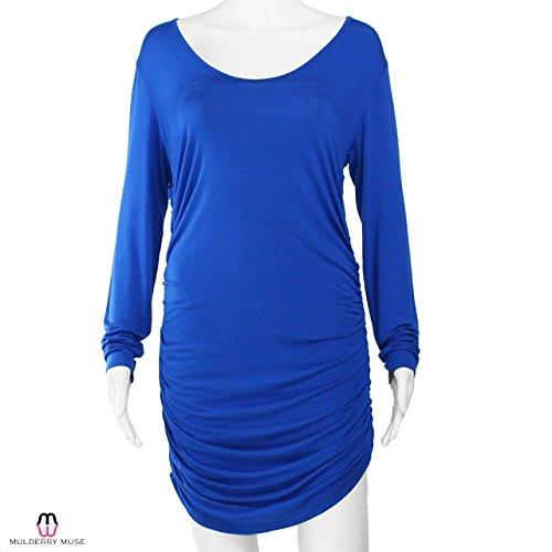 Minivestido Hedy Rowned De Riller & Fount Para Mujer, Azul 2