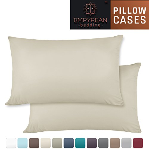 Empyrean Bedding Set of 2 Premium Standard-Size Pillowcases