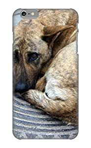 Elizabethshelly Durable Defender Case For Iphone 6 Plus Tpu Cover(animal Dog) Best Gift Choice
