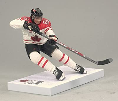 McFarlane Toys NHL Sports Picks Team Canada 2010 Series 2 Action Figure Rick Nash (Columbus Blue Jackets) White Jersey