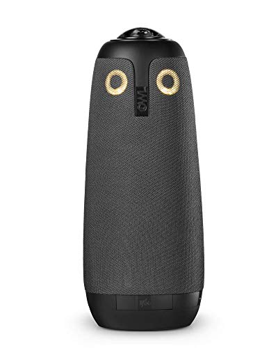 Owl Labs 360 Degree Video Conference Camera with Automatic Speaker - Black