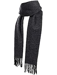 Scarf with Pure Bamboo Fiber Material Softness Scarf for Men Comfortable Long Scarf for Spring, Fall or Winter