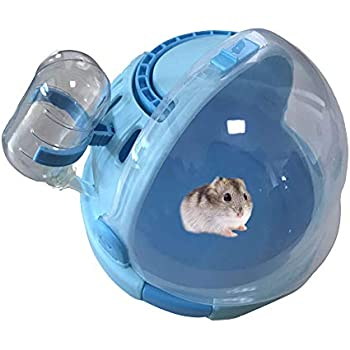 "Hagen Living World EXERCISE WHEEL 5.5/"" BLUE Small Animals Hamster"