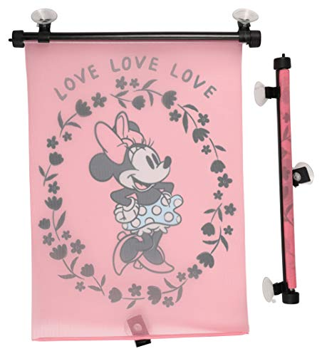 Disney Minnie Mouse 2Piece Sunshade with Love Print