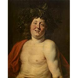 Oil Painting 'Jacob Jordaens I - The Young Bacchus,about 1640-1650' 12 x 15 inch / 30 x 38 cm , on High Definition HD canvas prints is for Gifts And Foyer, Kids Room And Living Room decor, discount