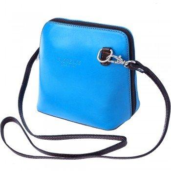 LaGaksta Small Flat Handmade Italian Leather Crossbody Bag P