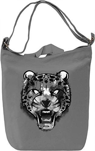 Wild Ghepardo Borsa Giornaliera Canvas Canvas Day Bag  100% Premium Cotton Canvas  DTG Printing 