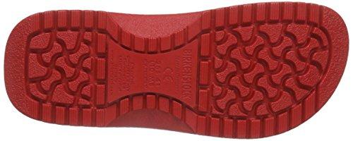 Birkenstock Super Birki Clog Black Polyurethane 39 Red Isfte