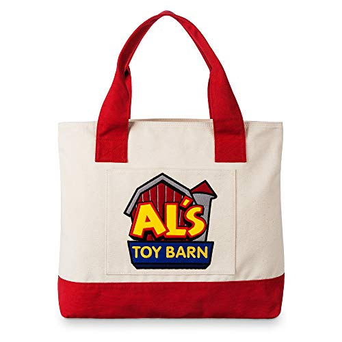 - Disney Al's Toy Barn Large Tote Bag - Toy Story Multi