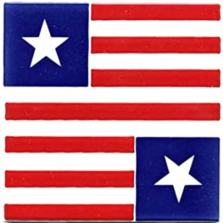 product image for POLITICAL AND PATRIOTIC GIFTS-STARS AND STRIPES POL #13 CERAMIC WALL PLAQUE