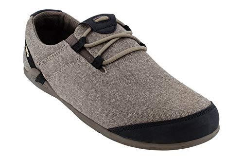 Xero Shoes Hana - Men's Casual Canvas Barefoot-Inspired Shoe - Carob (Best Barefoot Shoes 2019)