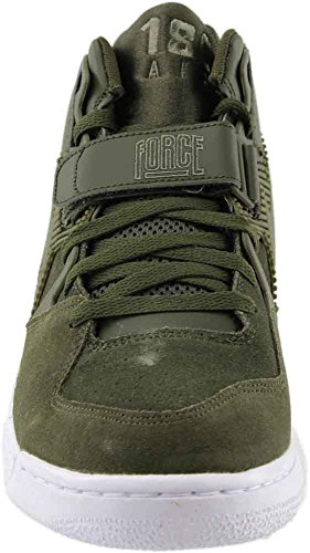 180 Leder Herren 44 Force Synthetik Khaki NIKE Sneaker Air qwA4T6wt
